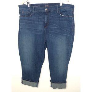 NYDJ Jeans - Nydj Dayla wide cuff Capri jean Size 22